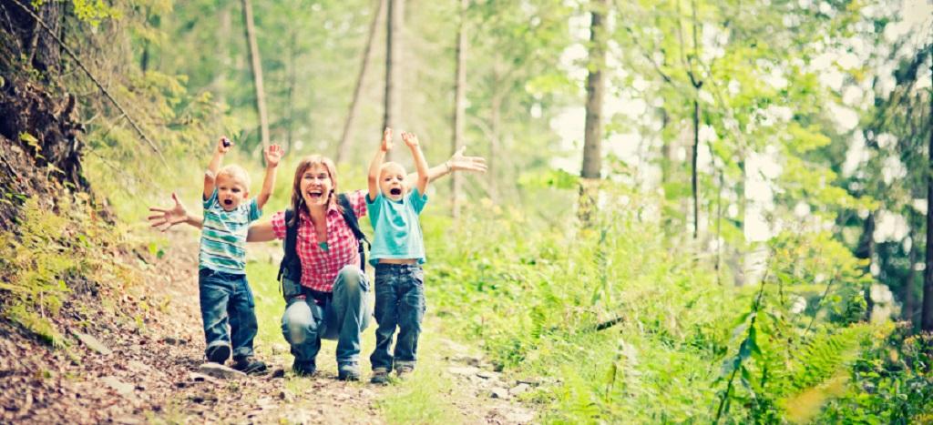 Wanderspaß mit  Kids